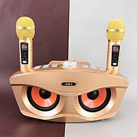 Loa Bluetooth kèm micro hát karaoke Không dây JVJ SD306 PLUS bản 2020 - Hàng Chính Hãng