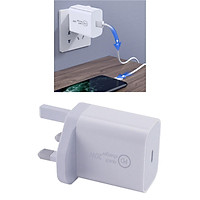 20W Type C Quick Phone Charger Travel Wall Adapter Universal with Over-temperature Protection