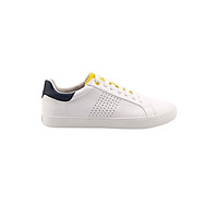 Giày Thể Thao Nam DinCox Off White/ Yellow 1901