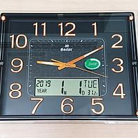 Đồng hồ Eastar Mặt kính Nổi, Có Dạ quang (*) Nhiệt kế và Lịch Vạn niên Điện tử