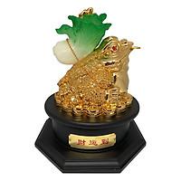 Cóc Vàng Xi Bắp Cải Đế Gỗ PT0105