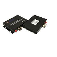 Bộ chuyển đổi video sang quang 2 kênh GNETCOM HL-2V-20T/R-1080P (2 thiết bị,2 adapter) - Hàng Chính Hãng