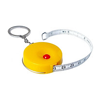 Thước dây móc chìa khóa 150cm - Nút bấm tự thu dây, nhỏ gọn, tiện lợi, bền, đẹp - HS Shop