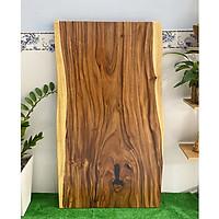 Mặt bàn gỗ me tây nguyên tấm tự nhiên KT 5x72x140cm