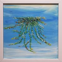 Tranh sơn dầu vẽ tay rêu