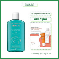 Gel Rửa Mặt Cho Da Nhờn Mụn Avène Cleanance Cleansing Gel (200ml)
