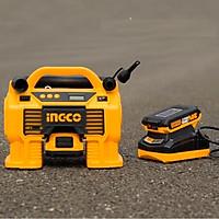Dụng cụ kiểm  tra lốp xe Ô tô  dùng pin  Lithium 20v ingco CACLI2002px