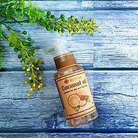 Dầu dừa dưỡng ẩm, chống rạn da, dưỡng môi, dưỡng tóc Ecolife - Coconut Oil 75ml