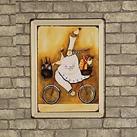 Quảng cáo phong cách Vintage 1950s (Part IV) trang trí quán cafe, tường phòng khách