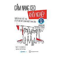 Cẩm Nang CEO Khởi Nghiệp