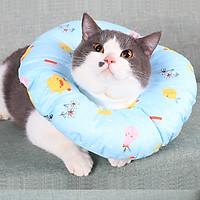 Vòng Cổ Chống Liếm Cho Chó Mèo - Siêu Nhẹ Và Dễ Thương (Giao màu ngẫu nhiên)