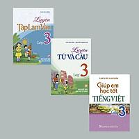 Combo 3 Cuốn Luyện Từ Và Câu + Luyện Tập Làm Văn + Giúp Em Học Tốt Tiếng Việt Lớp 3