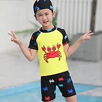 Đồ Bơi Bé Gái Họa Tiết Cool Hình Crab BBR620 MayHouse Chất Liệu Bền Đẹp