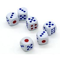 Combo 5 xí ngầu chơi cờ ( màu ngẫu nhiên)