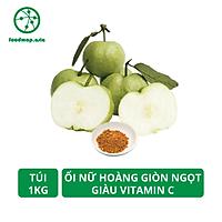 Ổi Nữ Hoàng Kiến Vàng Giòn Ngọt Giàu VitaminC - Túi 1Kg - Foodmap