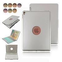 Bàn phím Bluetooth cao cấp F8S 7 màu đèn PKCB cho iPad Pro 9.7 Inch