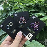 Vòng Bảo Vệ Camera Dành Cho IPhone 12, 12 Mini, 12Pro, 12Pro Max - Chống Bụi, Hạn Chế Vân Tay & Mờ Camera - Màu Titan Cực Chất