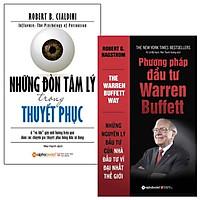 Combo Những Đòn Tâm Lý Trong Thuyết Phục + Phương Pháp Đầu Tư Warren Buffett (Bộ 2 Cuốn)