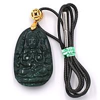 Vòng cổ Thiên Thủ Thiên Nhãn đá cẩm thạch 3.6 cm