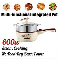 AUGIENB Multifunctional Electric Cooker Steamer Pot Nonstick Cooker Kitchen Food Frying Pan Rice Multi Mini Rice Cooker Electric cookers