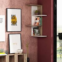 Kệ gỗ treo tường trang trí hiện đại SMLIFE Bowcott
