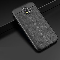 Ốp lưng cho Samsung Galaxy J7Pro silicon giả da, chống sốc Auto Focus - Hàng chính hãng