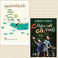 Combo sách văn học bán chạy: Nguyễn Nhật Ánh- Cây Chuối Non Đi Giày Xanh(Bìa mềm) + Chiến Binh Cầu Vồng ( Tác phẩm văn học hay)