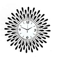 Đồng hồ trang trí treo tường tia hình giọt nước W0460B
