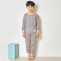 Bộ đồ dài tay mặc nhà cotton mịn cho bé trai U1005 - Unifriend Hàn Quốc, Cotton Organic