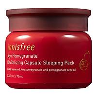 Mặt Nạ Ngủ Ngăn Ngừa Lão Hóa Từ Lựu Innisfree Jeju Pomegranate Revitalizing Capsule Sleeping Pack (70g)