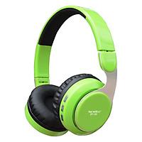 Tai Nghe Bluetooth Chụp Tai Soundmax BT-100 - Hàng Chính Hãng - Xanh Lá