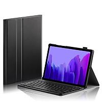 Bao da kèm bàn phím Bluetooth dành cho Samsung Galaxy Tab A7 2020 T500/T505 Smart Keyboard - Màu đen