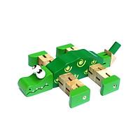 Cá Sấu Luồn Thun Mk - Đồ chơi gỗ