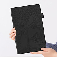 """Bao da pu silicon mềm dạng ví nắp lật có khe để thẻ cho máy tính bảng Samsung Galaxy Tab S6 Lite 10.4"""" SM-P610 SM-P615"""