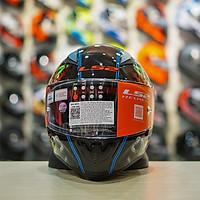 Mũ bảo hiểm Fullface LS2 FF353 tem Joker phát quang