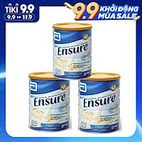 Combo 3 Hộp sữa bột Ensure hương Vanila 850 Grams bổ sung dinh dưỡng cho người lớn tuổi - Nhập khẩu Australia