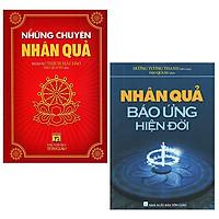 Bộ 2 Cuốn Sách Những Chuyện Nhân Quả: Những Chuyện Nhân Quả + Nhân Quả Báo Ứng Hiện Đời