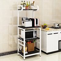 Kệ để lò vi sóng nhà bếp đa năng GB2000 khung thép chống gỉ phong cách sang trọng, tiện ích trong không gian nhà bếp