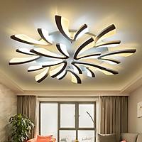Đèn ốp trần phòng khách  GOLDSEEE BCA 3 màu ánh sáng có điều khiển