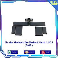 Pin cho Macbook Pro Retina 13 inch A1425  2012 - Hàng Nhập Khẩu
