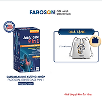 Viên Uống Glucosamine Bổ Khớp Faroson Joints Care 9 in 1 hộp 60 viên