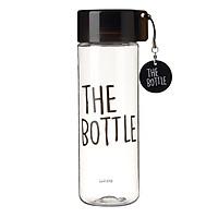 Bình Nước Nhựa Rỗng Komax The Bottle - Đen 550ml - 20487