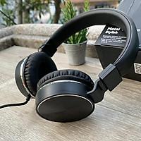 Tai nghe chụp tai có dây 3.5mm dùng được cho điện thoại, laptop...cho âm thanh chất lượng cao nghe nhạc xem phim đàm thoại chơi game thỏa thích tặng kèm móc khóa 5Tech