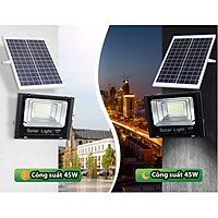 Đèn sân vườn năng lượng mặt trời 416 bóng led Solar Light 200W, 150W, 45W tích hợp nhiều công nghệ mới nhất