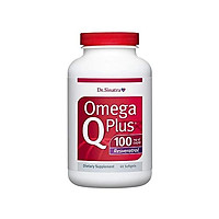 Dr. Sinatra's Omega Q Plus 100 Resveratrol – Omega-3 Supplement Supports Healthy Blood Flow, Blood Pressure, and Provides Antioxidant Power with 100mg of CoQ10 and Resveratrol (180 softgels)