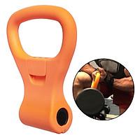 Kettlebells Grip Weight Handles to Convert Dumbbells Into Kettlebells Adapter