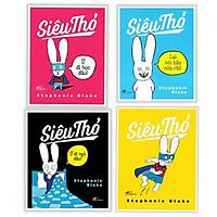 Combo 4 Cuốn Siêu Thỏ - (Tặng Kèm Bookmark Thiết Kế AHA)