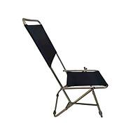 Ghế xếp inox loại cao Thanh Long GXI-L02 44 x 42 x 86 cm (Xanh dương)