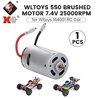 Wltoys 550 Brushed Motor RC Parts 7.4V 25000rpm Replacement for Wltoys XK 144001 RC Buggy
