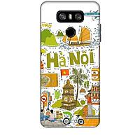 Ốp lưng dành cho điện thoại LG G6 Hình Hà Nội Mến Yêu - Hàng chính hãng